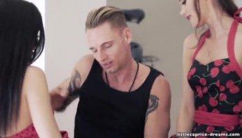 Busty sex teacher Jaclyn Taylor gets banged in cla