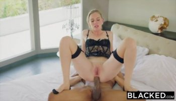 Big cock drills pussy and ass