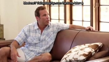 Wife Joana White Rides a Black Cock as Her Cuckold Hubby Watches
